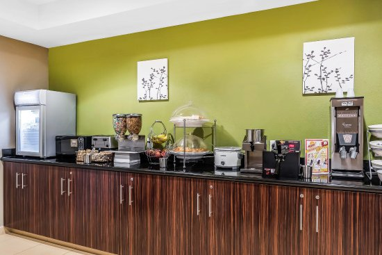 Sleep Inn and Suites Dothan: Breakfast Area