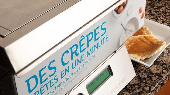 Holiday Inn Express Quebec City (Sainte-Foy): Pancake machine