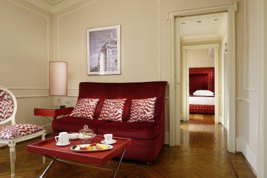 Hotel Brunelleschi: Bargello Suite Living