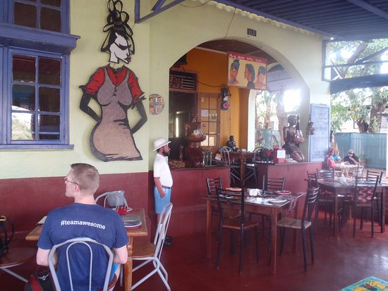 Mama Africa Eating House: great ambiance