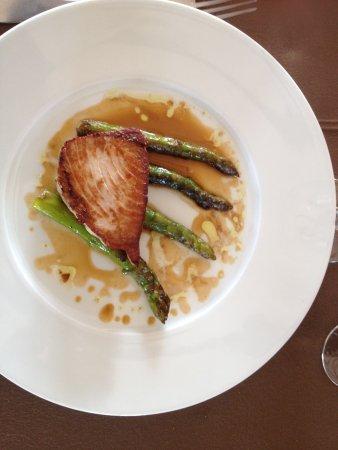 Mallemort, Francia: Thon et asperges vertes