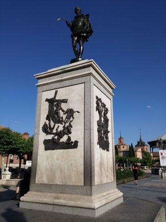 Alcala De Henares, Espagne : Plaza de Cervantes