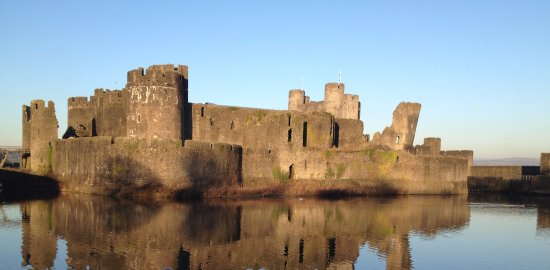 Caerphilly, UK: A castle worthy of awe