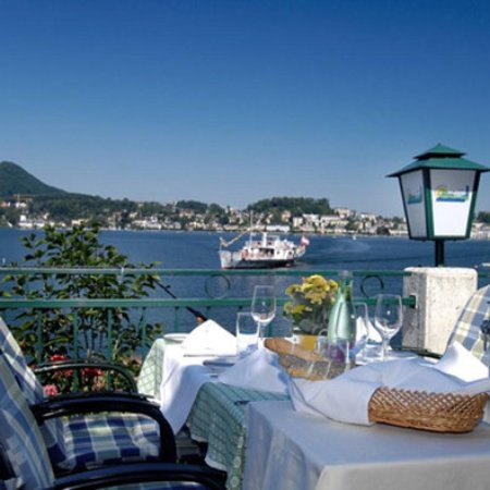 Gmunden, Austria: Terrace