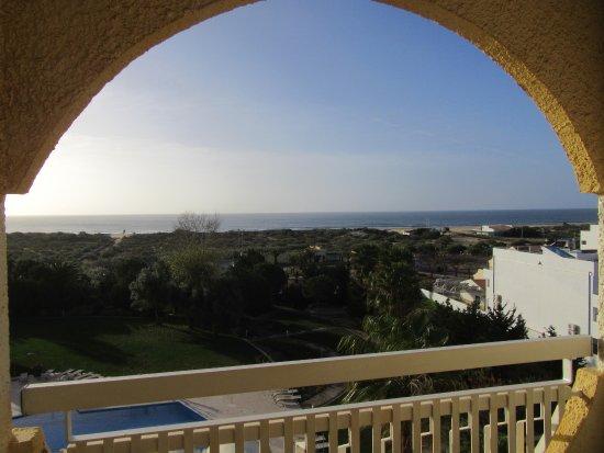 Altura, البرتغال: Pequeña terraza de la habitación