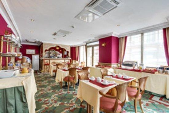 Villa Eugenie: Breakfast room