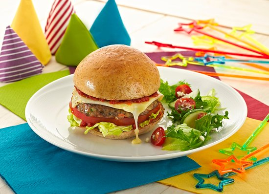 Mascot, Australia: Healthy and delicious Beef Burger on our Kids Menu