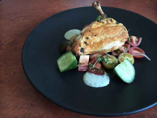 Mascot, Australia: Lemon & Oregano Chicken Breast with Greek Salad & Tzaziki