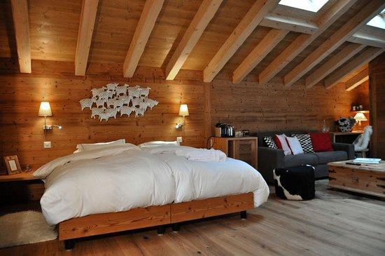Champery, Svizzera: Junior Suite Deluxe