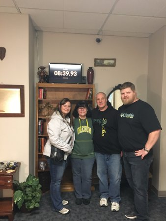 Salem, Oregón: We escaped with over 8 min remaining!