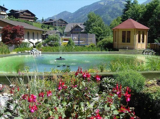 Zweisimmen, Switzerland: Aqca Life Bio Swimming Pool