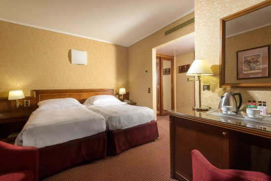 Lugano Dante Center Swiss Quality Hotel : Comfort With Twin Beds