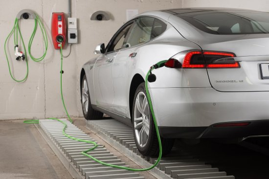 Lugano Dante Center Swiss Quality Hotel : Electric Car Charger