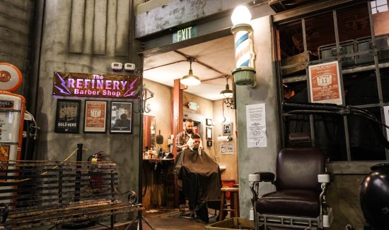 Springville, UT: Legends is also home to The Refinery Barber Shop