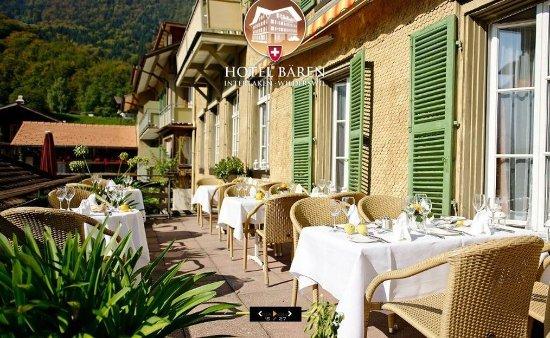 Wilderswil, Swiss: Terrace Bar