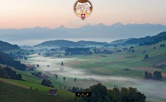 Wilderswil, Swiss: View from Hotel