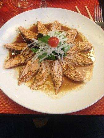 Magokoro: mi-cuit de saumon