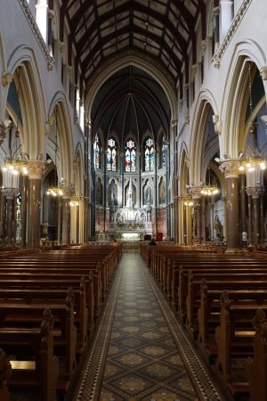 St Peter's Church: Nave looking north