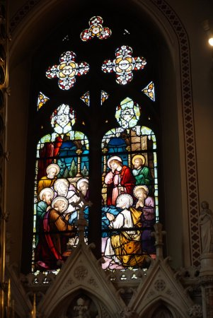 Drogheda, Irlandia: Stained glass window
