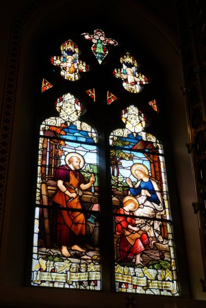 St Peter's Church: Stained glass window