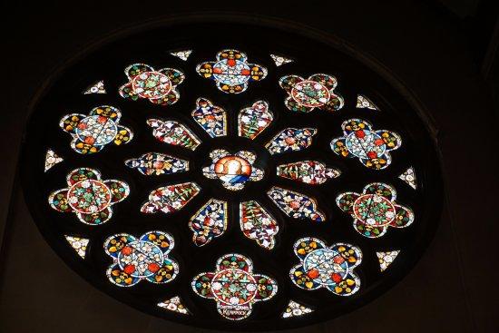 St Peter's Church: rose window