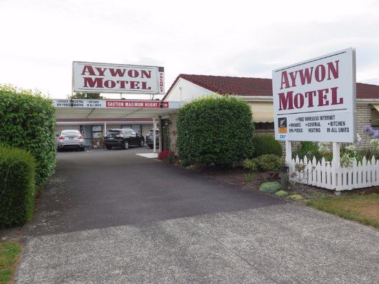 Aywon Motel: Entrance
