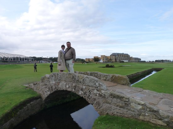 The Himalayas Putting Course: St Andrews photo op