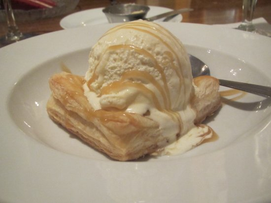 Appomattox, VA: Apple Tart with Lemon Ginger Ice Cream