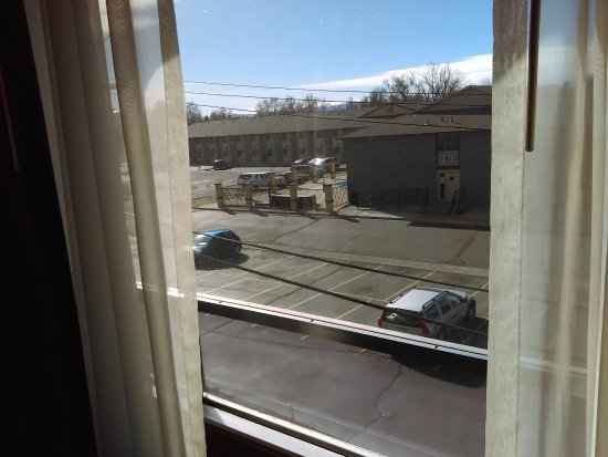 View outside in back (away from highway noise) - Picture of