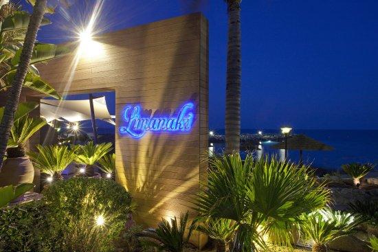 Amathus Beach Hotel Limassol: Limanaki Restaurant Entrance