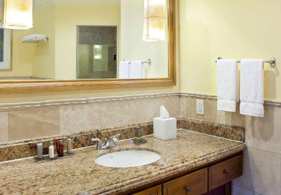 Frigate Bay, St. Kitts: Suite Bathroom