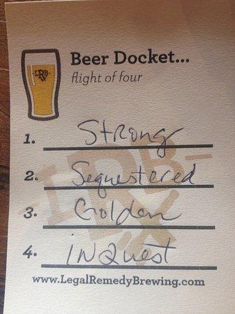 Rock Hill, Carolina del Sur: Beer Docket