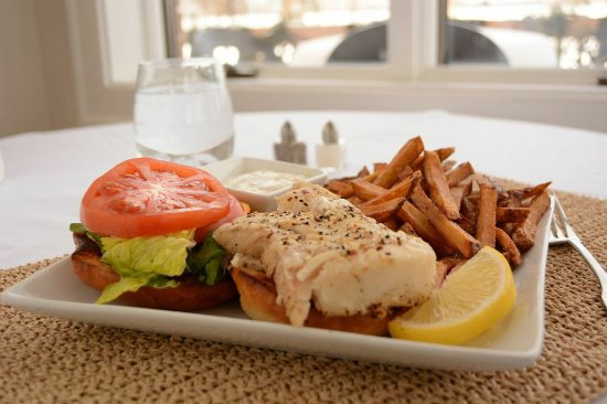 Ashland, OH: Tasty Pan Seared Fish Sandwich
