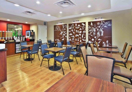 Farmingdale, Estado de Nueva York: Breakfast Area