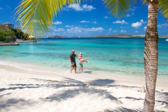 Benner, سانت توماس: romantic beach walks