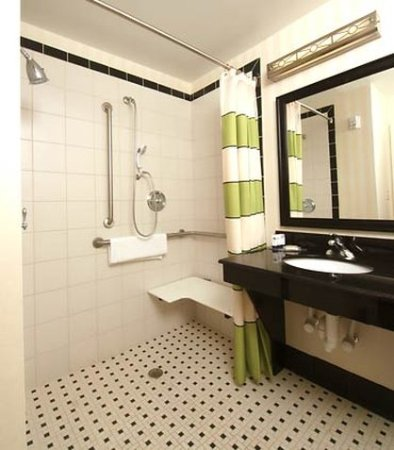 Cookeville, Τενεσί: Accessible Guest Bathroom Shower