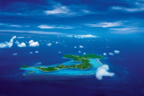 Canouan Aerial Shot