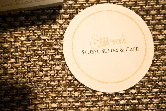 Stubel Suites and Cafe: Detalle de Logo