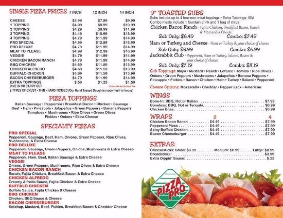 Lonoke, AR: Our menu