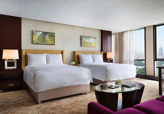JW Marriott Hotel Shenzhen: Double/Double Guest Room