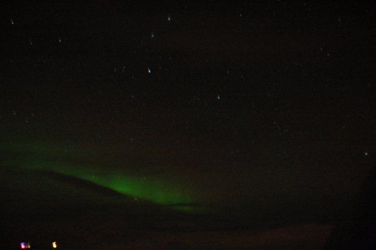 Gateway to Iceland : northern light