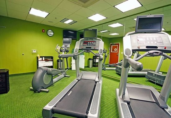 Turlock, Californië: Fitness Center