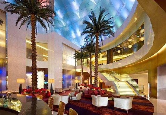 Beijing Marriott Hotel Northeast: The Lounge