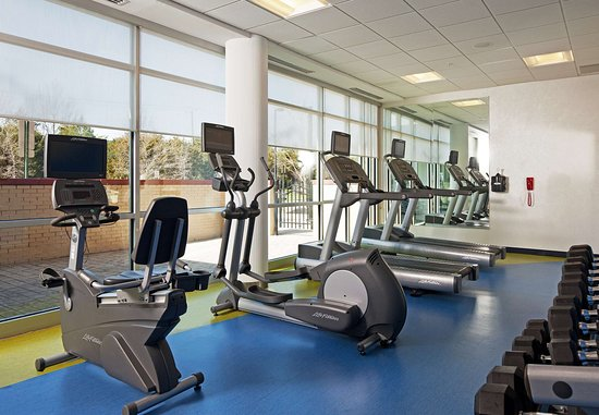 SpringHill Suites Ashburn Dulles North: 24-Hour Fitness Center