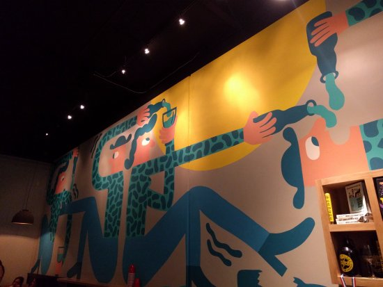 Wall art - Picture of Mikkeller Brewing San Diego, San Diego ...