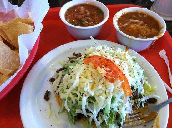 Manteca, CA: Carne Asada Tostada