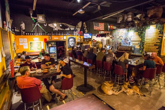 Eagle, CO: Dog friendly taproom