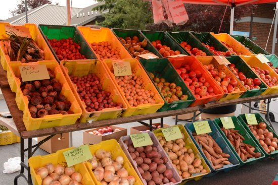 Tigard, Oregón: A lot of produce options.