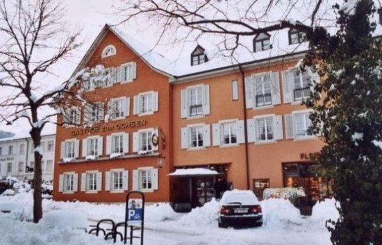 Arlesheim, Suiza: In the winter