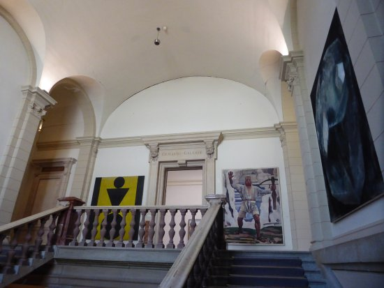 Kunstmuseum Solothurn: staircase